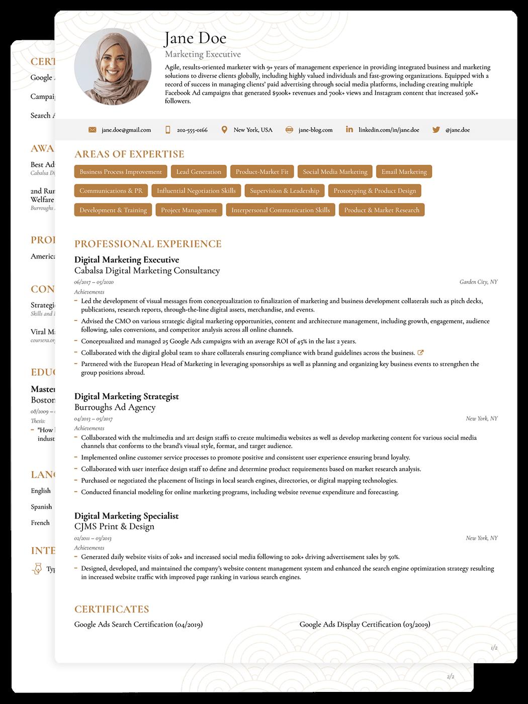 best job winning cv templates for 2018  download  u0026 edit